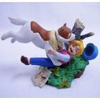 中古トレーディングフィギュア ネロとパトラッシュ 「世界名作劇場1 K&Mミニヴィネットシリーズ/フランダースの犬」