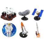 中古トレーディングフィギュア 全6種セット 「宇宙への挑戦 最新宇宙探査ミニチュアモデル」 宇宙博2014限定