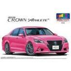 新品プラモデル 1/24 トヨタ AWS210 クラウン アスリートG リボーンピンク`13 モモタ