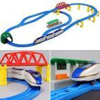 中古おもちゃ プラレール E7系北陸新幹線かがやき 立体レールセット