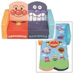 新品おもちゃ アンパンマン やわらかキッズソファーベッド 「それいけ!アンパンマン」