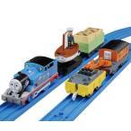 新品おもちゃ プラレール どきどき宝探しセット どろんこトーマス・スキフ・船乗りジョン 「きかんしゃトーマス」