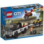 新品おもちゃ LEGO 四輪バギーとトレーラー 「レゴ シティ」 60148