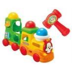 中古知育・幼児玩具 ボールをポン!ワンワンのおしゃべりトレイン 「いないいないばあっ! 」