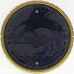 中古雑貨 オーメダル シャチ・コア(藍) 「仮面ライダーオーズ/OOO オーメダルセット03」
