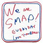中古タオル・手ぬぐい(男性) SMAP プチタオル 「We are SMAP! 2010 SMAP CONCERT TOUR」