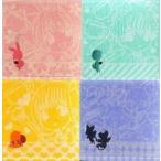 中古タオル・手ぬぐい(キャラクター) 全4種セット ポイント刺繍入りタオル 「一番くじ カードキャプターさくら〜ケル