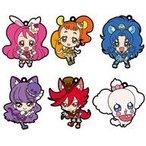 ショッピングマカロン ストラップ 中古ストラップ(キャラクター) 全6種セット 「キラキラ☆プリキュアアラモード ラバーストラップ」
