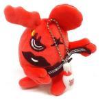 中古キーホルダー・マスコット(女性) 麻珠 リトグリむぎゅっとマスコット(赤) 「Little Glee Monster×ROUND1」