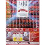 中古ポスター(女性) B2販促ポスター AKB48 「Blu-ray/DVD AKB48 in TOKYO DOME 〜1830mの夢〜」