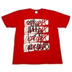 """中古Tシャツ(男性アイドル) OLDCODEX TシャツB レッド Lサイズ 「OLDCODEX Tour 2015 """"ONE"""