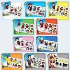 中古食玩 ステッカー・シール 全10種セット 「銀河へキックオフ!! シール&カード」 <食玩>