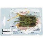 中古食玩 ミニカー 01.ティーガーI 後期型(3色迷彩) 「ワールドタンクミュージアム シリーズ01」