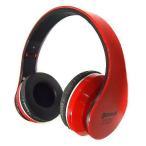 中古ヘッドフォン MP3プレーヤー搭載 ブルートゥースヘッドホン (レッド)