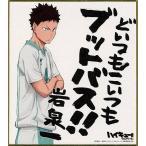 中古紙製品(キャラクター) 岩泉一 「ハイキュー!! セカンドシーズン ビジュアル色紙コレクション2」