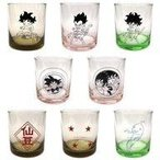 中古マグカップ・湯のみ 全8種セット カラーグラス 「一番くじ ドラゴンボール EXTREME SAIYAN」 E賞