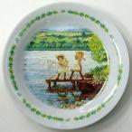 中古皿・茶碗(キャラクター) きらめきの湖 絵皿 「赤毛のアン」 セブンイレブンキャンペーン品
