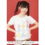 中古生写真(AKB48・SKE48) 中井りか/上半身・白に柄シ