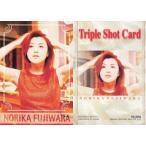 中古コレクションカード(女性) NO.038 : 藤原紀香/Triple Shot Card/藤原紀香 トレーディングコレクション