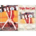 中古コレクションカード(女性) NO.044 : 藤原紀香/Triple Shot Card/藤原紀香 トレーディングコレクション