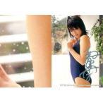 中古コレクションカード(女性) 117 : 釈由美子/銀箔押しサイン入り/SHIN YAMAGISHI TRADING