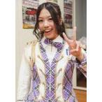 中古生写真(AKB48・SKE48) 沖田彩華/上半身・衣装白.紫・左手ピース/紅白歌合戦出場記念 キャンペーン 生写真