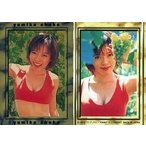 中古コレクションカード(女性) 15 : 釈由美子/スペシャルカード/ホイル仕様/釈由美子 トレーディングカ