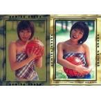 中古コレクションカード(女性) 17 : 釈由美子/スペシャルカード/ホイル仕様/釈由美子 トレーディングカ
