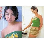 中古コレクションカード(女性) すほうれいこ/バストアップ・衣装緑/DUNK CARD