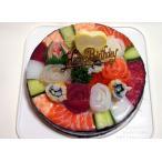 寿司ケーキ プレミアム「お誕生日(ナンバー)」
