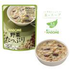 非常食 カゴメ 野菜たっぷり豆のスープ
