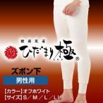 健康肌着 ひだまり極 男性用 ズボン下 下着/暖か/インナー/ギフト/冬