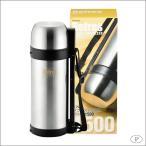パール金属 リフレス ダブルステンレスボトル 1500mL HB-2427(容器・ストッカー・調味料容器)