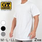 グンゼ Tシャツ G.T.HAWKINS 2枚組 (M〜LL) (定番)