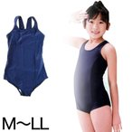 スクール水着 イルカ 女子 競泳用ワンピーススクール水着 (M〜LL)  (季節/ON/学用品) (740-2501)