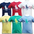 Yahoo!SUXEL-IMPORT-STORE子供服 ポロ ラルフローレン Polo by Ralph Lauren キッズ グラフィック キッズ 半袖 Tシャツ 管理:3700-  得トク2WEEKS0410