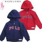 ポロラルフローレン キッズ ジップパーカー Polo by Ralph Lauren  US2T-7
