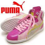 23cm  PUMA プーマ ジュニアファーストラウンドシャーベットBG ピンク キッズ スニーカー 送料無料