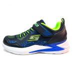 新作 スケッチャーズ SKECHERS 光る スニーカー ボーイズ S LIGHTS: ERUPTERS III - DERLO 子供靴 ブラックブルーライム