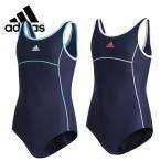 Yahoo!SUXEL-IMPORT-STORE水着 adidas アディダス ガールズ Uバックワンピース スイム 女児スクール水着 120-160cm  得トク2WEEKS0410