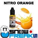 電子タバコ 国産 リキッド snowfreaksのNITRO ORANGE:ニトロオレンジ風味 20ml 正規品/ベイプ/フレーバー/安全/スノーフリークス