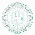 タコグラフチャート紙 小芝 1日(26時間)120km 赤ライン (100枚入り)