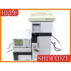 ●HPLC一式/コントローラーSCL-10AVP+脱気装置DGU-20A3+ポンプLC-20AD+屈折率検出器RID-10A+カラム恒温槽CTO-20A+データ処理機C-R8A●