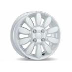 ラパン アルミホイール(14インチ) ホワイト *1本より  スズキ純正部品 パーツ オプション