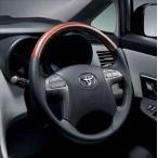 ショッピングANA マークXジオ ウッド調ステアリング  トヨタ純正部品 パーツ オプション