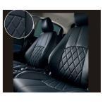 デミオ DAMD 本革調シートカバー(ブラック)  マツダ純正部品 パーツ オプション