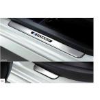 ノート キッキングプレート(LED白色発光) 日産純正部品 HE12 E12 NE12  パーツ オプション