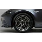 ロードスターRF BBS社製鍛造 アルミホイール(17×7.0J)ブラックメタリック塗装 1本から 本体のみ ※付属品は別売