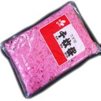 【送料無料】うす切り千枚桜 《2kg×18袋》 新進 【まとめ買い】【業務用】【ピンク色】