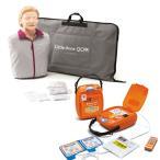 「AEDトレーニングユニット 日本光電 TRN-3100」+「CPR訓練用人形 レールダル リトルアンQCPR」セット
